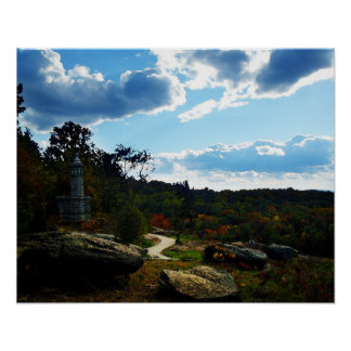 Little Round Top (1 of 2) Poster