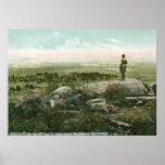 Little Round Top, Gettysburg Battlefield Vintage Posters