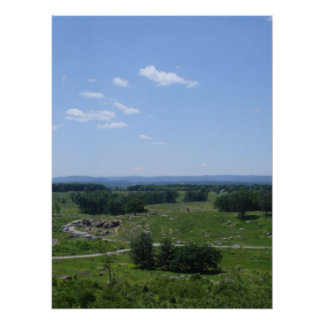 Little Round Top Panorama 2 Print