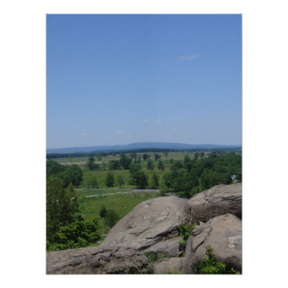 Little Round Top Panorama 5 Posters