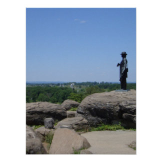 Little Round Top Panorama 6 Print