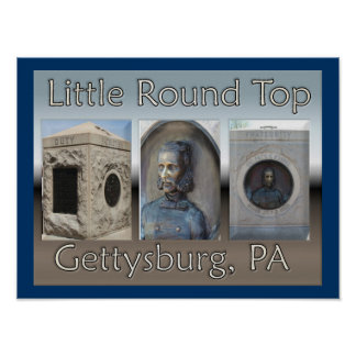 Little Round Top Poster