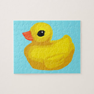 """Little Rubber Ducky"" Jigsaw Puzzle"