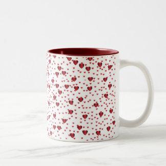 Little Ruby Hearts Mug