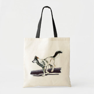 Little Running Wolf Tote Bag