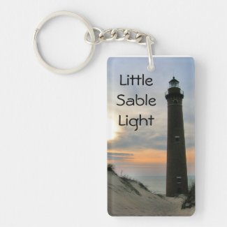 Little Sable Light Acrylic Key Chain