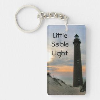 Little Sable Light Keychain
