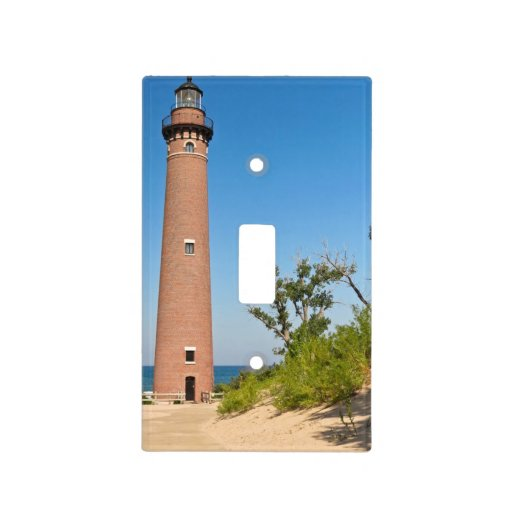 Little sable lighthouse light switch plates zazzle for Lighthouse switch plates
