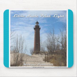 Little Sable Point Light Mouse Pad