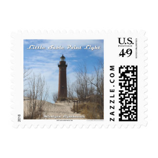 Little Sable Point Lighthouse: 1st Class Postage
