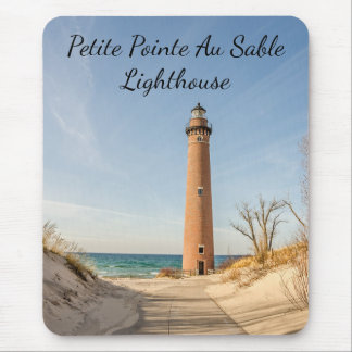 Little Sable Point Lighthouse in Mears, Michigan Mouse Pad
