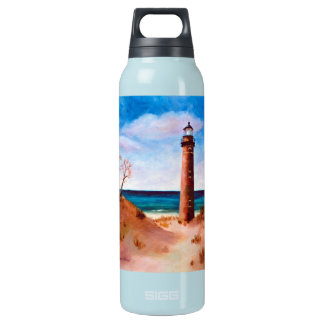 Little Sable Point Lighthouse Insulated Water Bottle