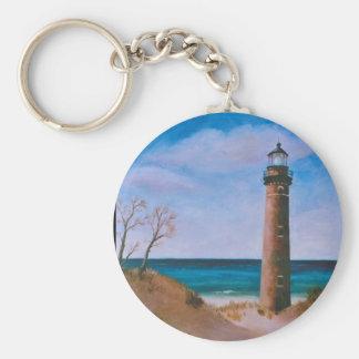 Little Sable Point Lighthouse Keychain