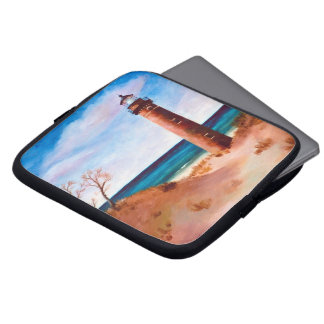 Little Sable Point Lighthouse Laptop Sleeve