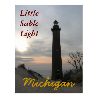 Little SableLight, MI Postcards