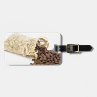 Little sackcloth with coffee beans bag tag