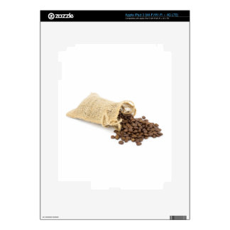 Little sackcloth with coffee beans skin for iPad 3
