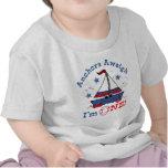 Little Sailboat 1st Birthday T Shirt