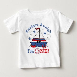 Little Sailboat 1st Birthday Infant T-shirt