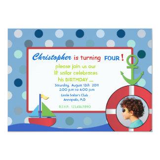 Little Sailor - Birthday Invites