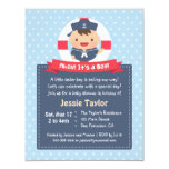Little Sailor Boy Nautical Baby Shower Invitations