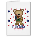 Little Sailor Like Daddy Card