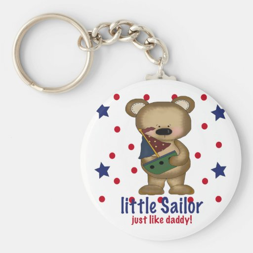 Little Sailor Like Daddy Keychains