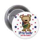 Little Sailor Like Daddy Pinback Buttons
