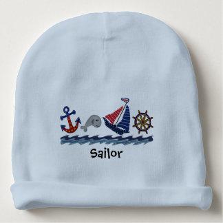Little Sailor Baby Beanie