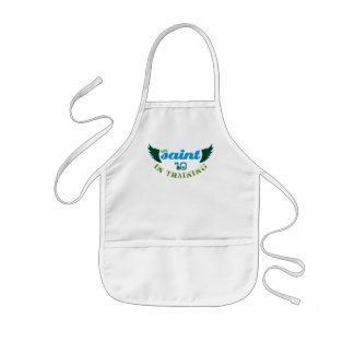 Little Saint in Training '10 Christian baby apron