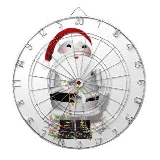Little Santa Claus Robot - Robo-x9 Dartboard With Darts