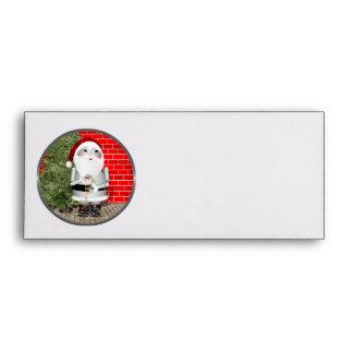 Little Santa Claus Robot - Robo-x9 Envelope