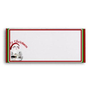 Little Santa Robo-x9 Envelopes