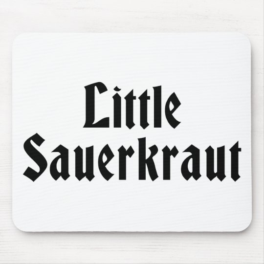 Little Sauerkraut Mouse Pad
