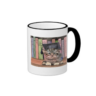 Little Scholar Ringer Coffee Mug