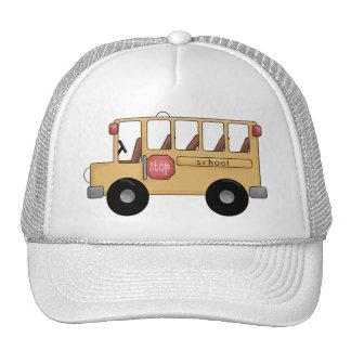 Little School Bus Mesh Hat