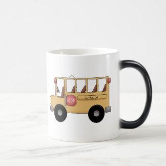Little School Bus 11 Oz Magic Heat Color-Changing Coffee Mug