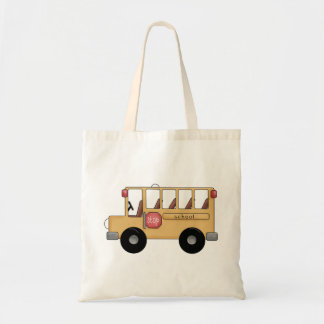 Little School Bus Tote Bag