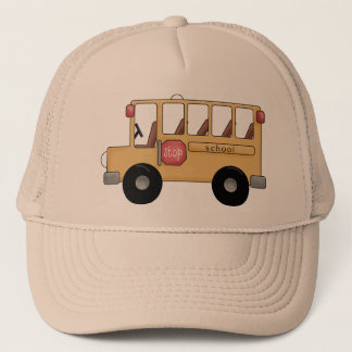 Little School Bus Trucker Hat