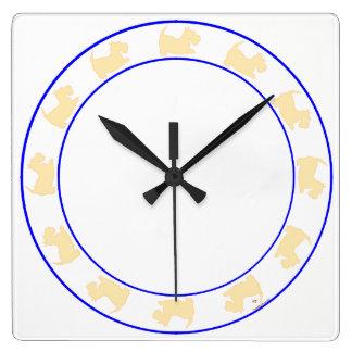 Little Scottie Clock