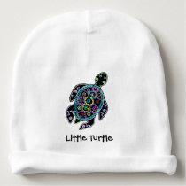 Little Sea Turtle Baby Beanie