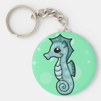 Little seahorse keychain