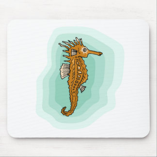 Little Seahorse Mouse Pads