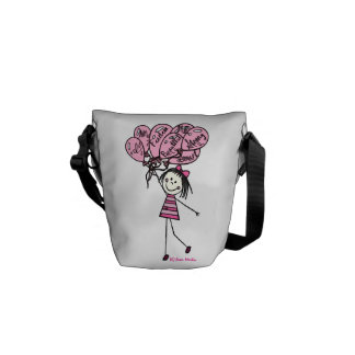 Little Seraphina - I am me. Courier Bag