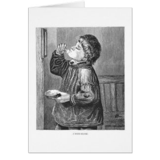 Little Shaver, Greeting Card