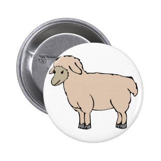 Little Sheep 2 Inch Round Button