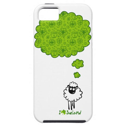 Little sheep dream about Ireland iPhone 5 Cover