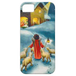 Little shepherd on the road to Bethlehem iPhone 5 Covers