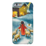 Little shepherd on the road to Bethlehem Barely There iPhone 6 Case