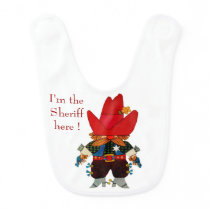 Little Sheriff Bib